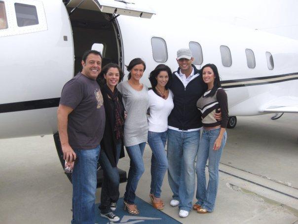 Christopher Mallick Friends Jet Off