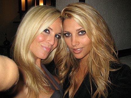 Lesley Kamarad and Shaliza Somani